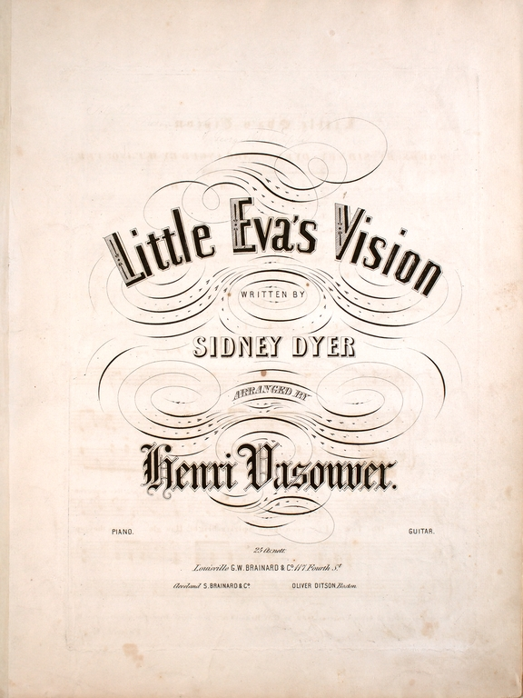 Little Eva's Vision sheet music