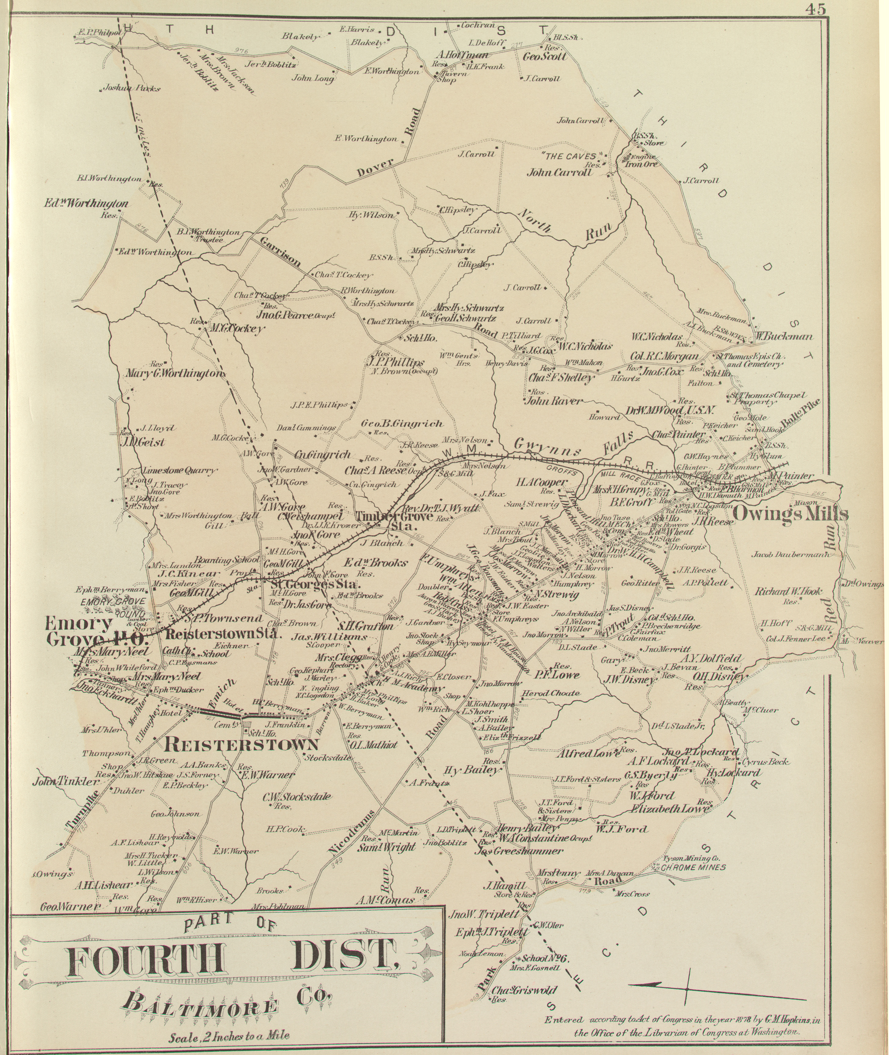 ANNE ARUNDEL CO.] Atlas of Fifteen Miles Around Baltimore ... on annapolis map, prince william county map, prince george's county map, frederick county map, howard county md map, arundel mills map, cass county map, harford county map, baltimore map, maryland county map, prince george co. md map, burke county map, calvert county map, glen burnie map, queen anne map, montgomery county map, carroll county map, arundel md map, ellicott city map, johnson county map,